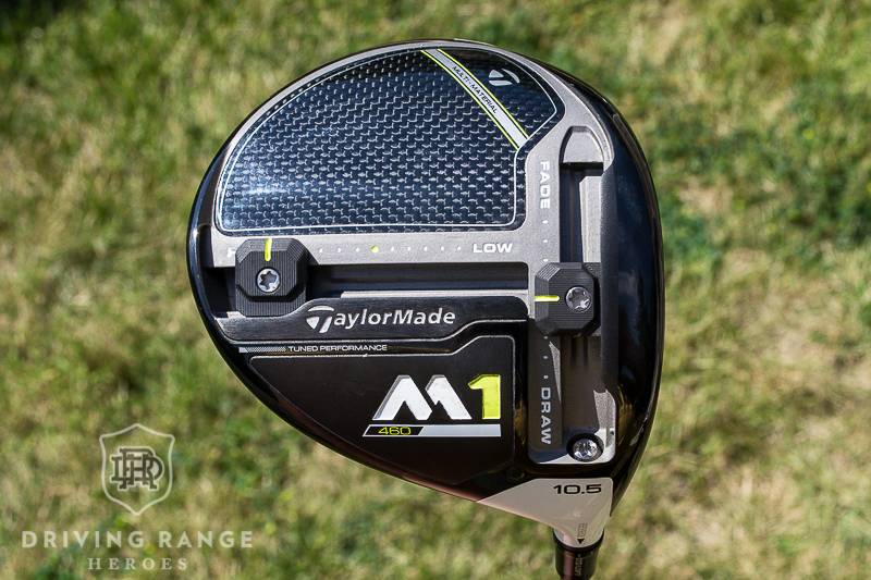 taylormade m5 driver head weight