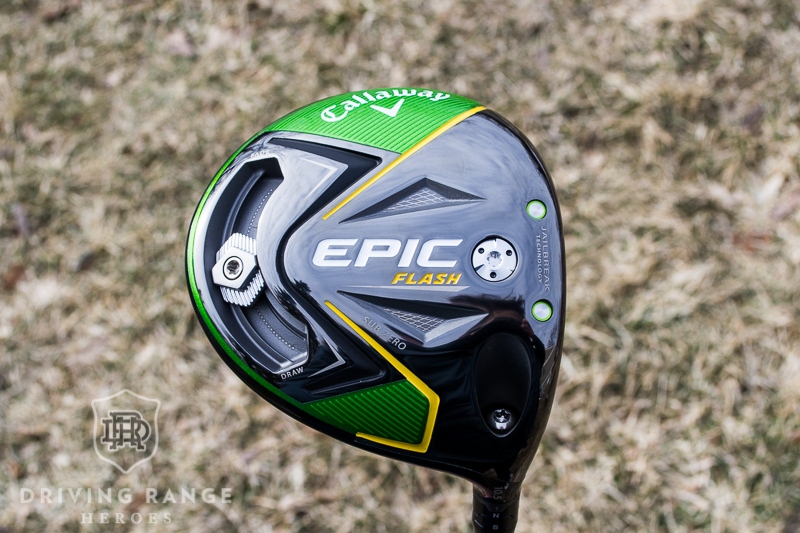 Callaway Epic Flash Sub Zero Driver Review - Driving Range