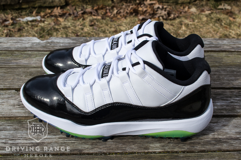ed33aafc769 Nike Air Jordan XI Golf Shoe Review - Driving Range Heroes