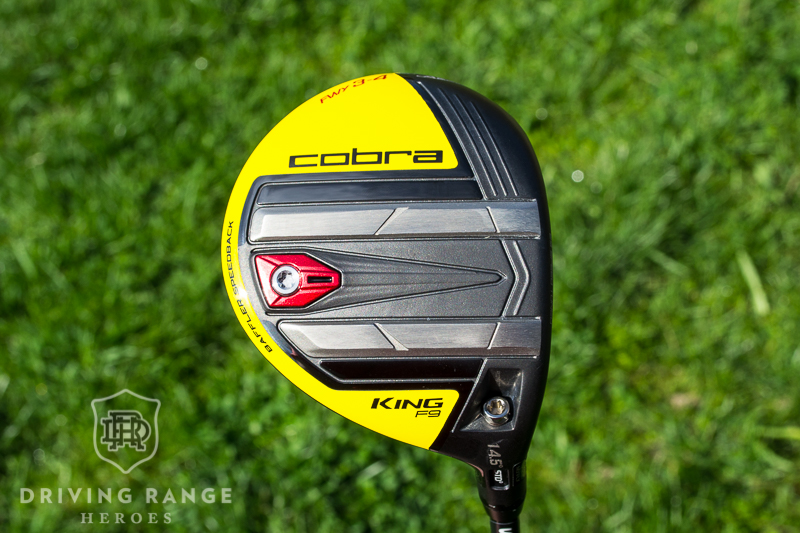Cobra KING F9 Speedback Fairway Wood Review - Driving Range
