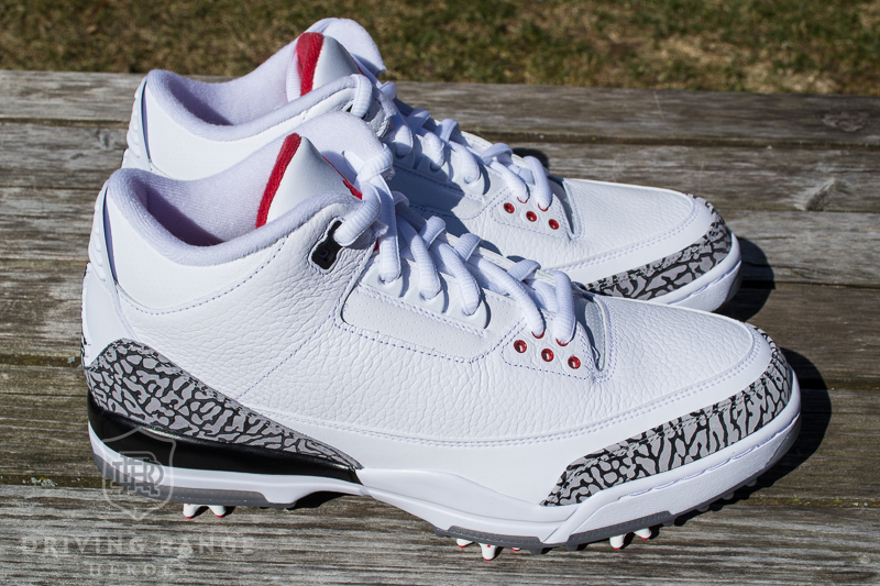 09b73cc92fa Nike Air Jordan III Golf Shoe Review - Driving Range Heroes