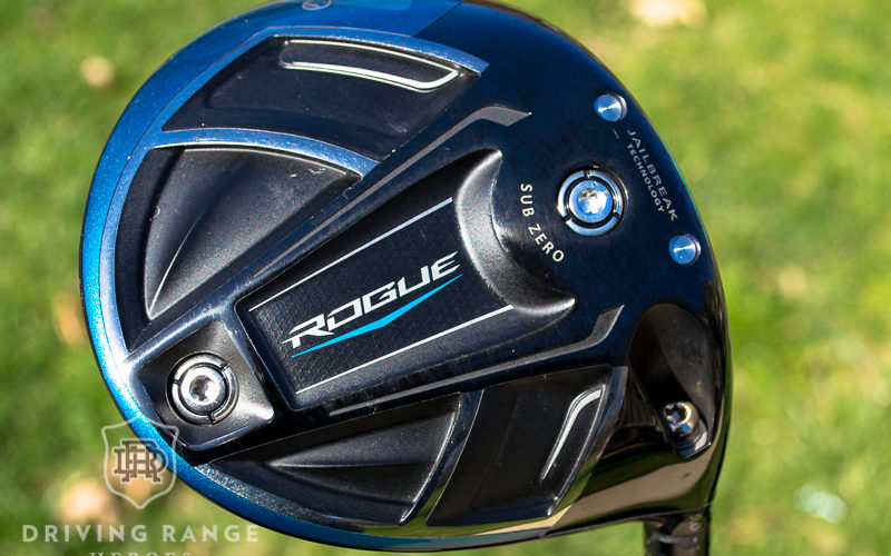 Callaway Rogue Sub Zero Driver Review - Driving Range Heroes