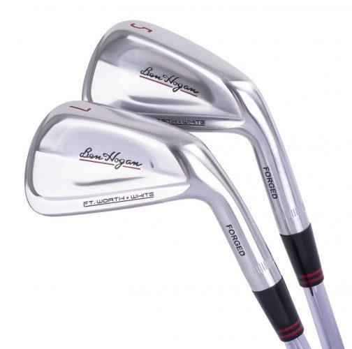 Ben Hogan Golf Equipment Company Debuts Ft. Worth WHITE Irons