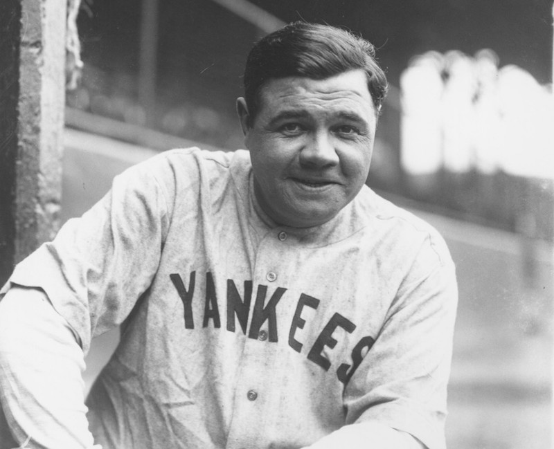 Babe Ruth - The Most Famous Golfer In America During The -1917